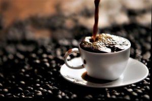 コーヒー染み